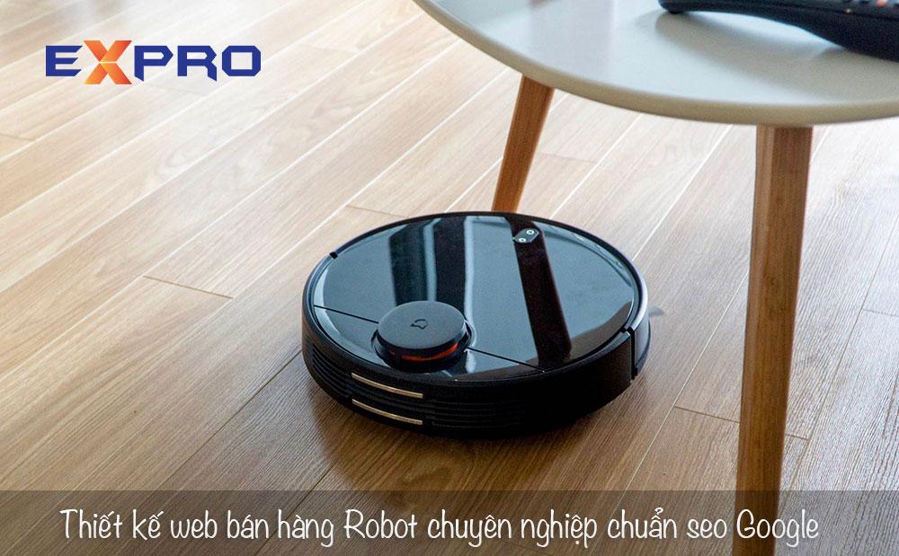 Thiết kế web bán robot chuyên nghiệp chuẩn SEO