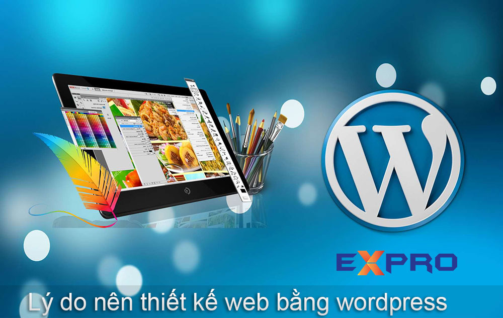 Lý do bạn nên chọn thiết kế web wordpress
