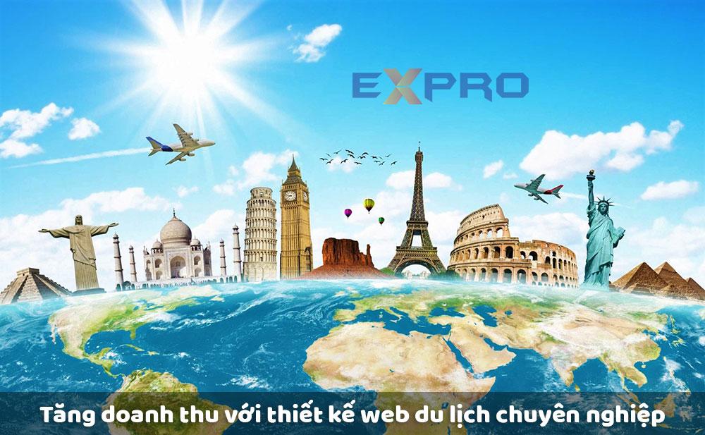 Tăng doanh thu hiệu quả với thiết kế web du lịch chuyên nghiêp