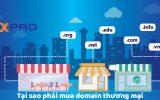 Tại sao nên mua domain thương mại?