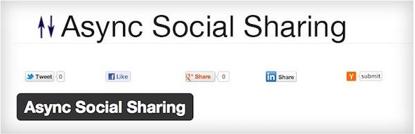 Async Social Sharing
