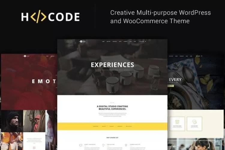 Mẫu web công ty đa lĩnh vực H-Code
