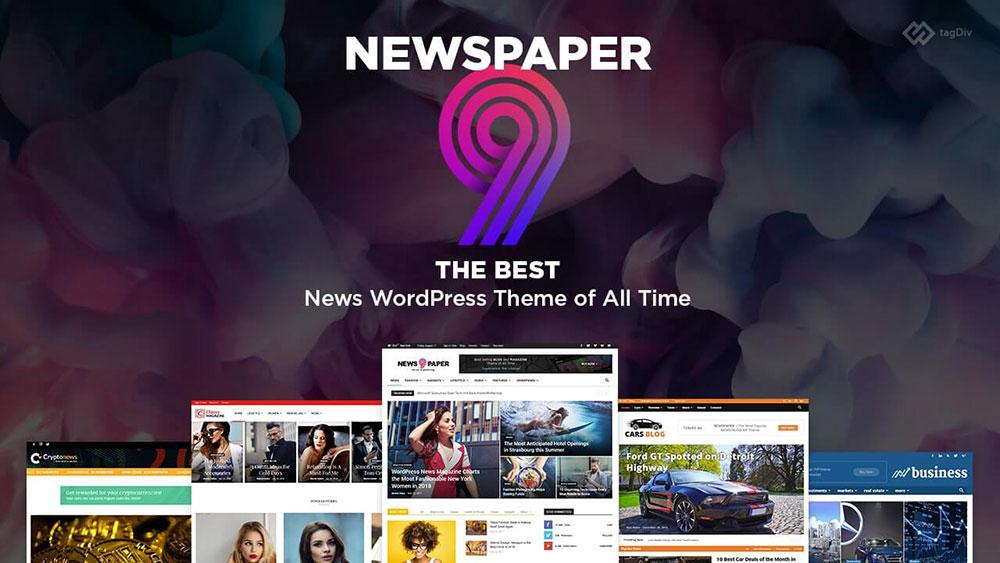 mẫu web tin tức - Newspaper