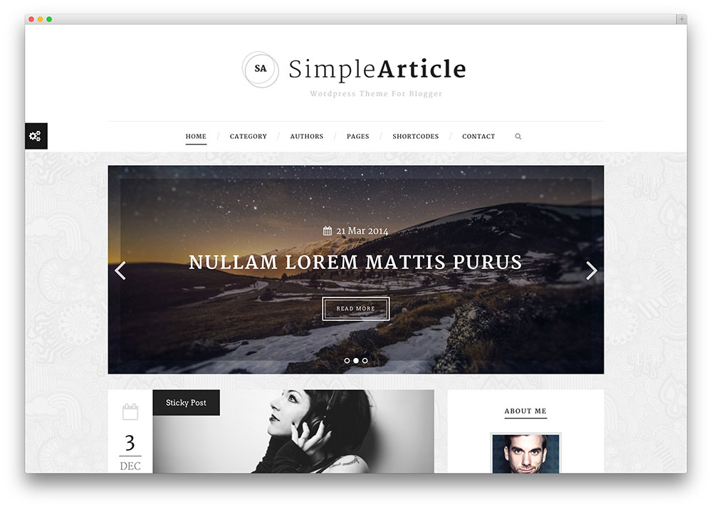 simplearticle blog