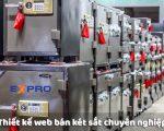 Thiết kế web bán két sắt chuyên nghiệp chuẩn SEO chất lượng tốt