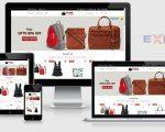 Thiết kế web bán túi xách thời trang online chuyên nghiệp chất lượng