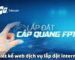 Thiết kế web công ty lắp đặt mạng internet mạng viễn thông chuyên nghiệp