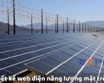 Thiết kế web năng lượng mặt trời chuyên nghiệp chuẩn SEO