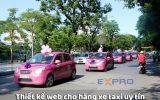 Thiết kế web cho hãng taxi
