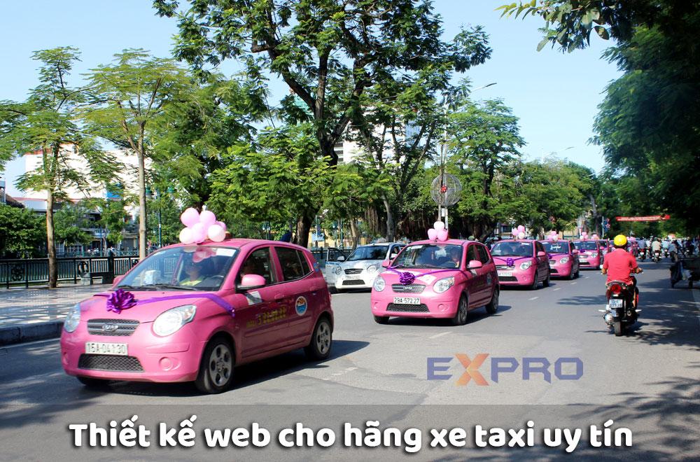 Thiết kế web hãng xe taxi chuyên nghiệp