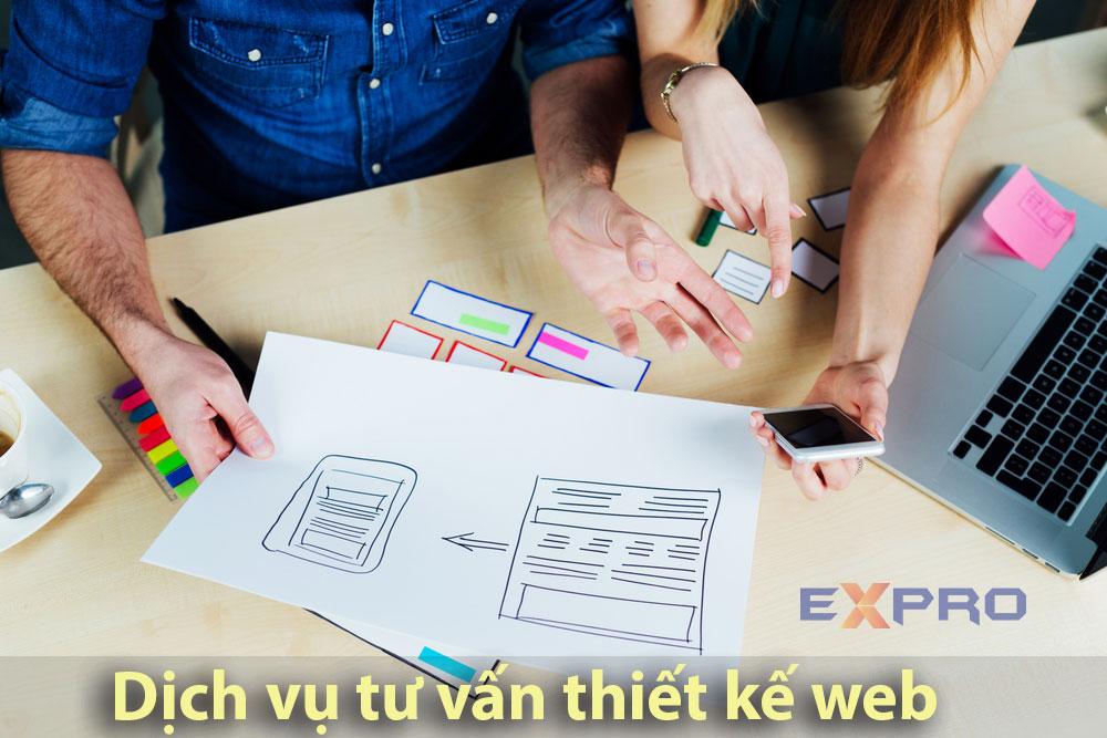 Dịch vụ tư vấn thiết kế website