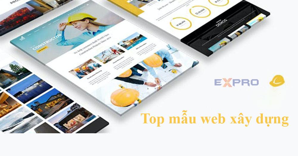 Top 5 mẫu website công ty xây dựng chuyên nghiệp