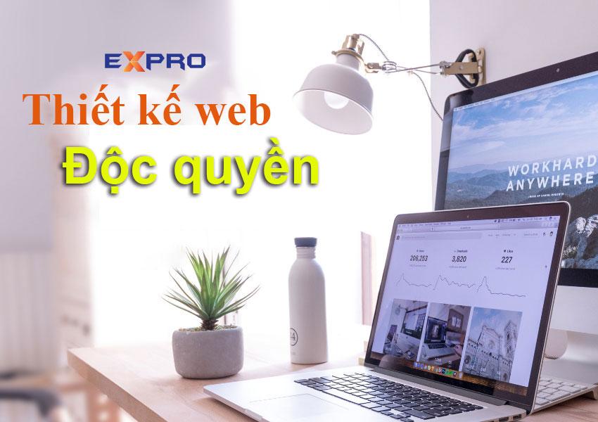 Thiết kế web độc quyền