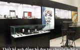 Thiết kế website bán đồng hồ đeo tay nhập khẩu sang trọng đẹp mắt