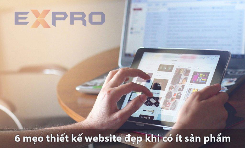 6 mẹo để thiết kế website đẹp thu hút