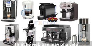 Thiết kế web bán máy pha cafe