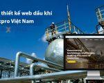 Thiết kế website dầu khí chuyên nghiệp, đẳng cấp quốc tế